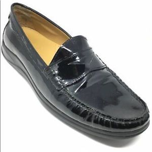 Cole Haan Air Erika Penny Loafers Leather Black 8